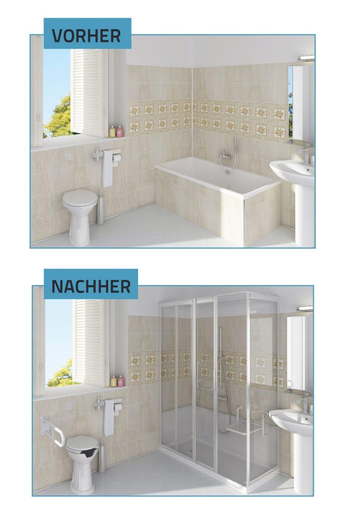 Eine Badewanne In Eine Dusche Umwandlung Lineaoceano Swiss